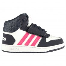 adidas Hoops Mid Infants Trainers