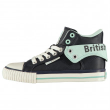 British Knights Roco PU Lace Childrens Hi Tops