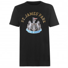 Source Lab Newcastle United Crest T Shirt Mens