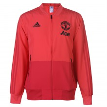 adidas Manchester United Pre Match Jacket 2018 2019 Mens