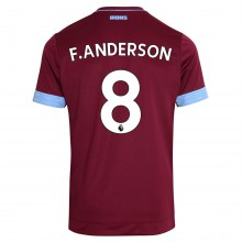 Umbro West Ham United Felipe Anderson Home Shirt 2018 2019 Junior
