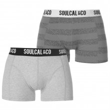 SoulCal Trunks Pack of 2