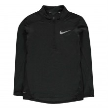 Nike Breathe Half Zip Running Top Junior