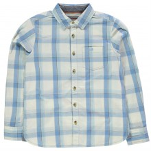 SoulCal Long Sleeve Check Shirt Junior Boys