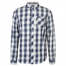 SoulCal Deluxe Long Sleeve Check Shirt
