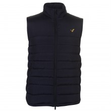 VOI Quilted Panel Gilet Mens