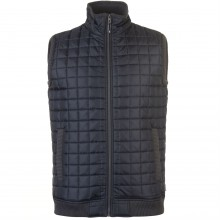 Lee Cooper Quilted Gilet Mens