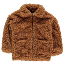 Firetrap Teddy Coat Junior Girls