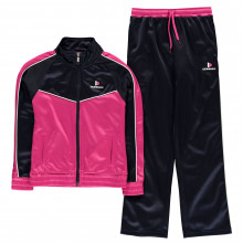 Donnay Poly Tracksuit Junior Girls