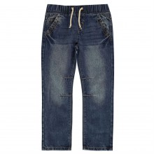 Crafted Elasticated Waist Jeans Child Boys