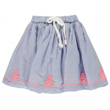 Crafted Embroidered Skirt Infant Girls