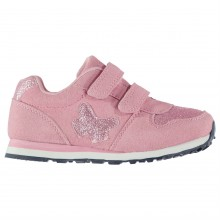 Crafted Infant Girls Butterfly Trainers
