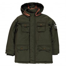SoulCal Padded Parka Jacket Infant Boys