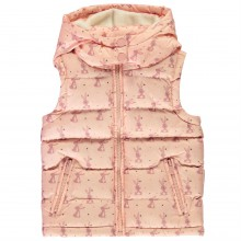Crafted Padded Gilet Infant Girls