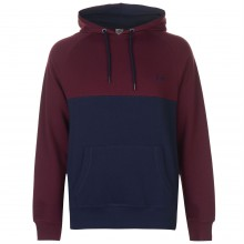 Lee Cooper Cut and Sew OTH Hoody Mens