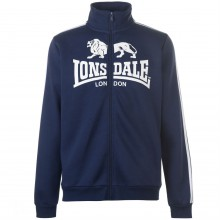 Lonsdale 2 Stripe Zip Though Jacket Mens