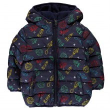 Crafted Mini Padded Jacket Baby Boys
