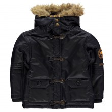 SoulCal Toggle Parka Jacket Junior Boys