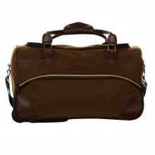 Kangol Chocolate Wheelie Holdall