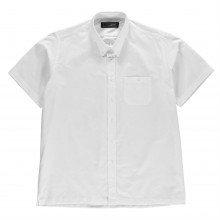 Jonathon Charles Short Sleeve Oxford Collar Shirt Mens