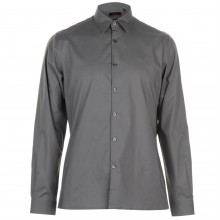 Pierre Cardin Slim Fit Stretch Long Sleeve Shirt Mens