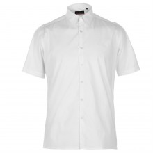Pierre Cardin Slim Fit Short Sleeve Shirt Mens