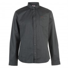 Lee Cooper Cotton Twill Shirt Mens
