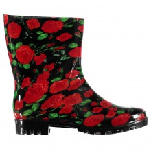 Резиновые сапоги Rock and Rags Flower Wellies Ladies