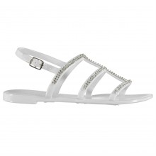 SoulCal Jelly  3 Strap Sandals Ladies