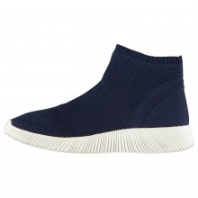 Fabric Sock Trainers Ladies