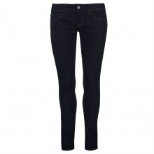 G Star 3301 Deconst Low Skinny Jeans Womens