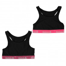 Reebok Bra Pack of 2 Junior Girls