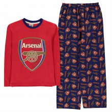 Team Woven Jersey Pyjama Set Child Boys