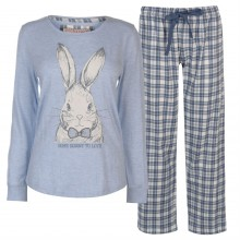 Rock and Rags and Rags Animal PJ Set Ladies
