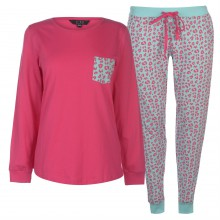 Miso Long Sleeve PJ Set Ladies