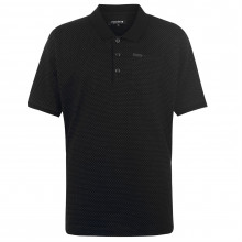 Мужская футболка поло Firetrap Blackseal XL Pinpoint Polo Shirt