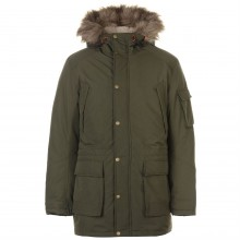 Jack and Jones Latte Parka
