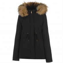 Kangol Pintuck Parka Jacket Ladies