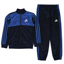 adidas Tiberio Closed Hem Tracksuit Junior Boys