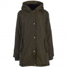 SoulCal Classic Parka Coat Ladies