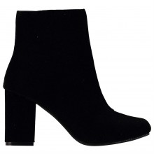 Rock and Rags Velvet Heeled Boots