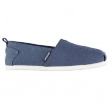 SoulCal Long Beach Ladies Canvas Slip Ons