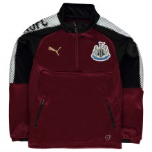 Puma Newcastle United Quarter Zip Training Top Junior