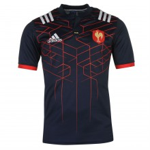 adidas France Rugby Home Jersey Mens