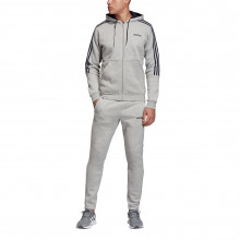 adidas Three Stripe Jogger Suit Mens