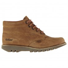 Kickers Kick Hi Classic Leather Shoes Ladies