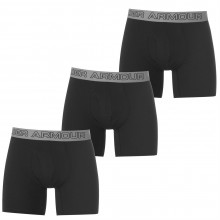 Мужские трусы Under Armour Cotton 3 Pack Boxer Shorts Mens