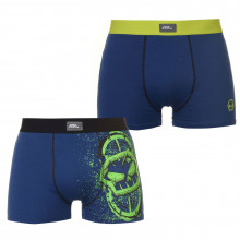 Мужские трусы No Fear Grafik 2 Pack Trunks Mens