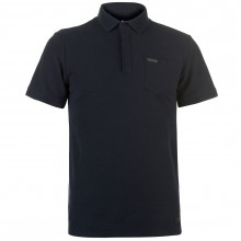 Мужская футболка поло Firetrap Blackseal Textured Collar Polo Shirt