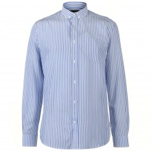 Pierre Cardin Bold Stripe Long Sleeve Shirt Mens